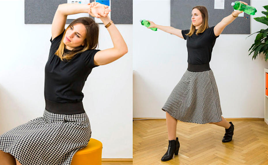 Kurz-Workout im Office