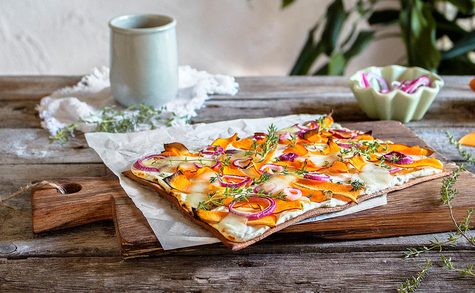 Detox mit der Low Carb Pizza