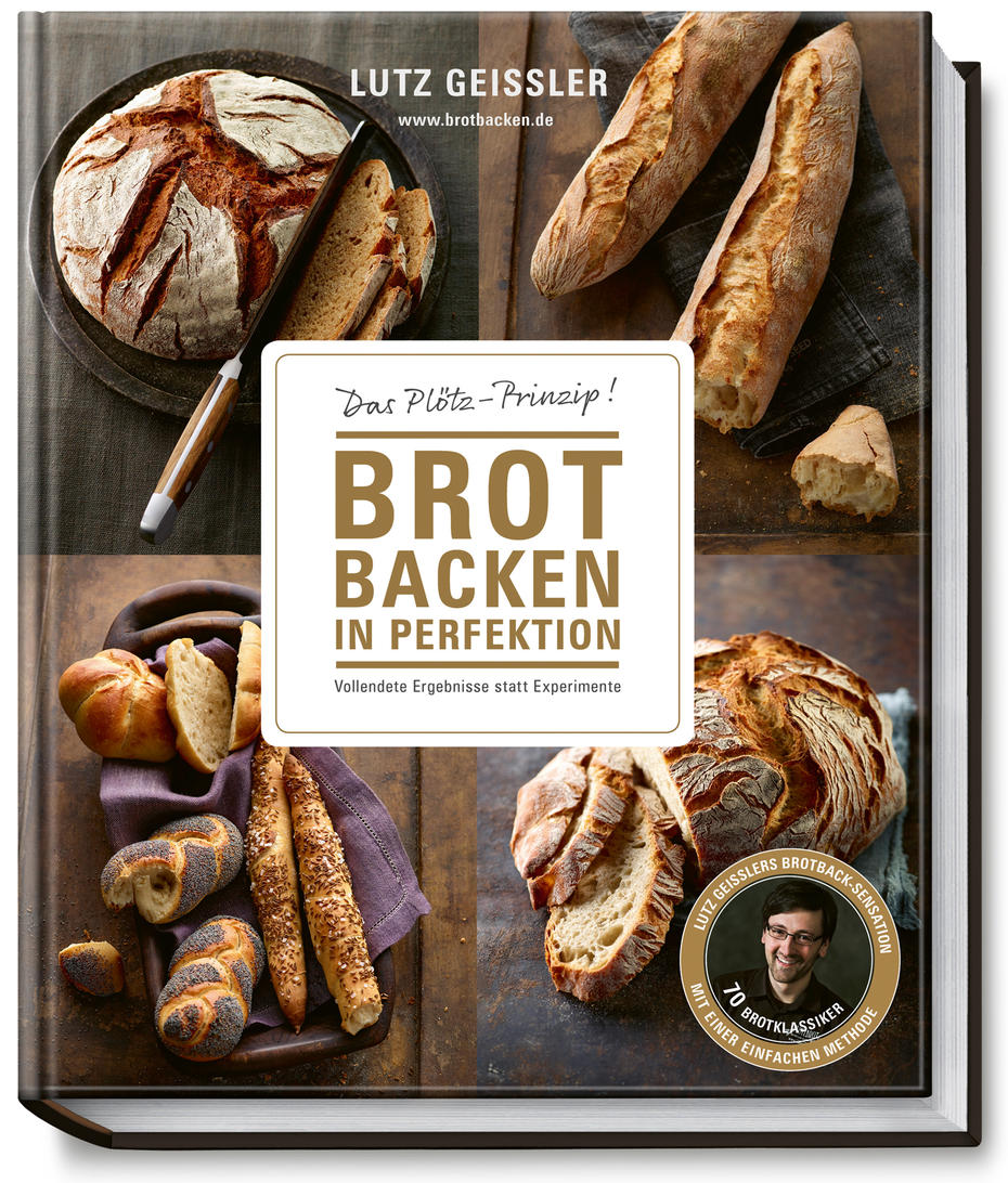 Brot backen in Perfektion, Lutz Geißler, Becker Joest Volk, € 30,80.