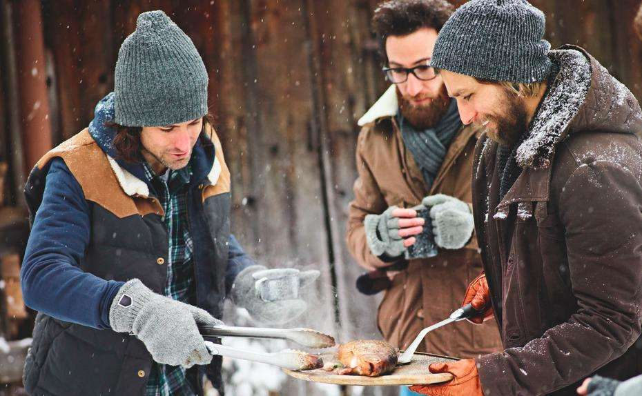 Winter-Grillen in Wien